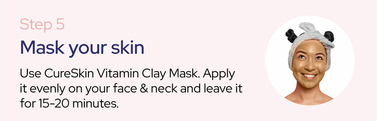 how to use cureskin cleanup kit