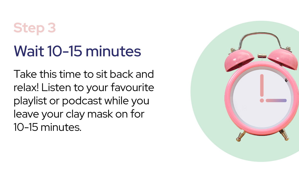 how to use cureskin clay mask